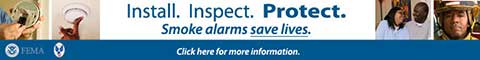 Install. Inspect. Protect. Smoke Alarms Save Lives